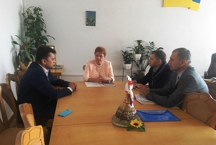 Зустріч із заступником голови Волинської ОДА Світланою Мишковець